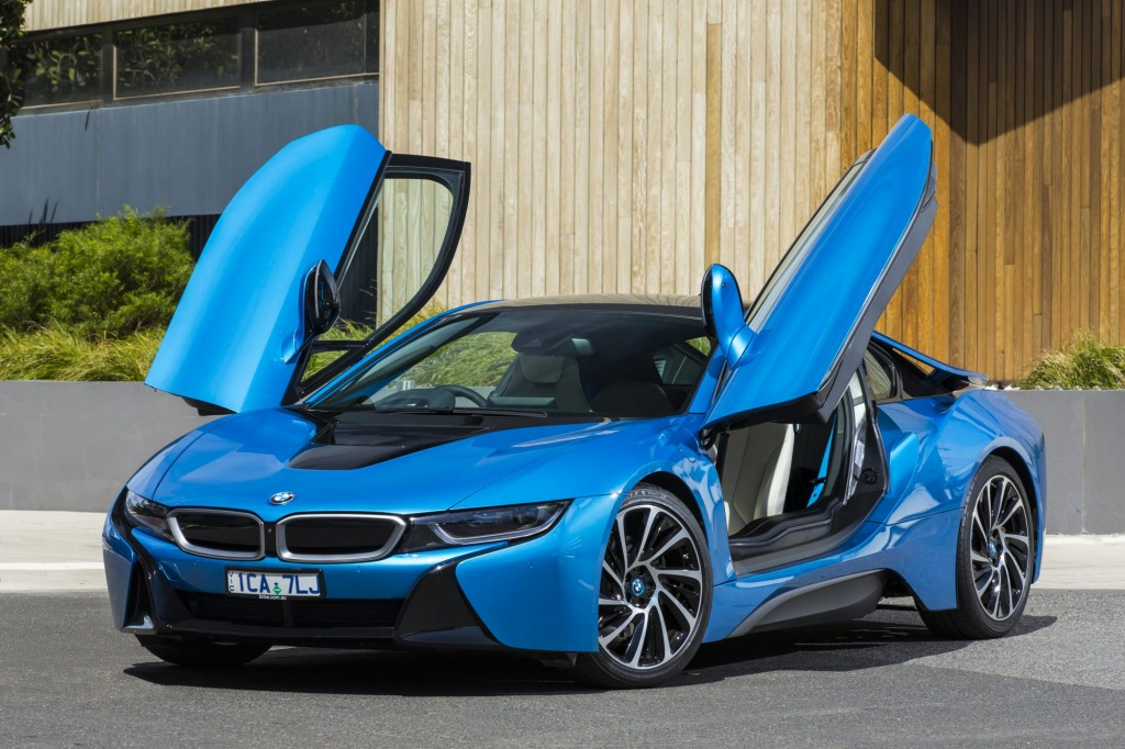 BMW's petrol-electric i8 supercar has the smarts to match its futuristic appearance