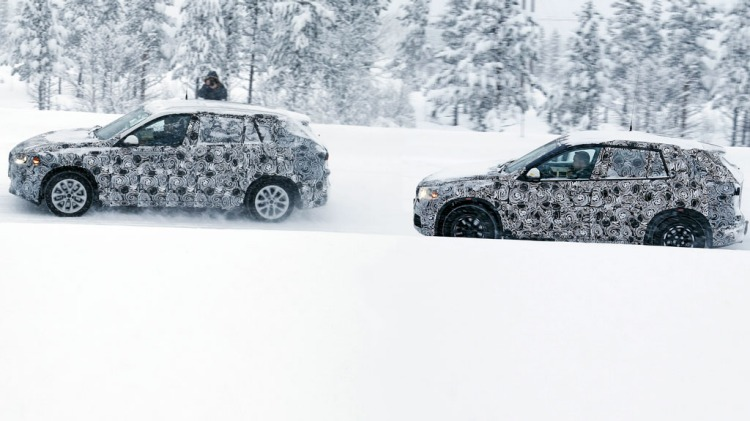 Spy photographers have snapped the new BMW X1 and BMW FAST prototype during testing. Source: Automedia.