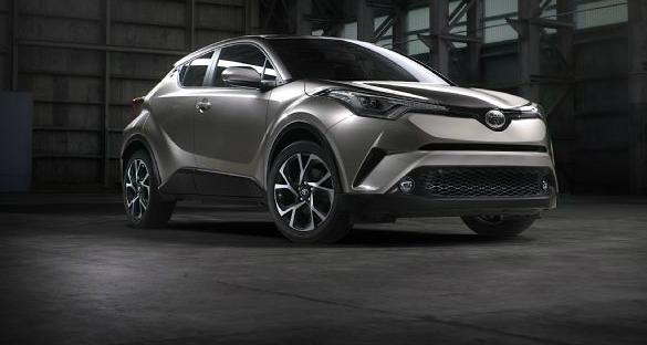 2017 Toyota C-HR - Australian Preview