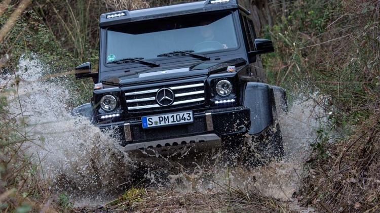 New military-grade Mercedes-Benz G500 4x4² has been revealed ahead of the 2015 Geneva motor show.