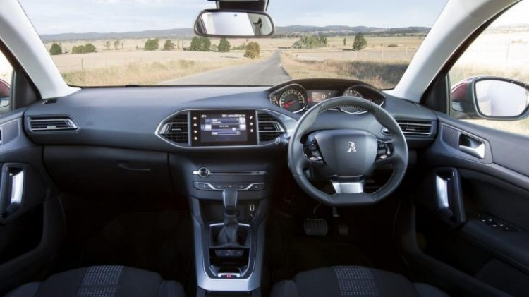 Peugeot's interior represents a point of difference over competitors.