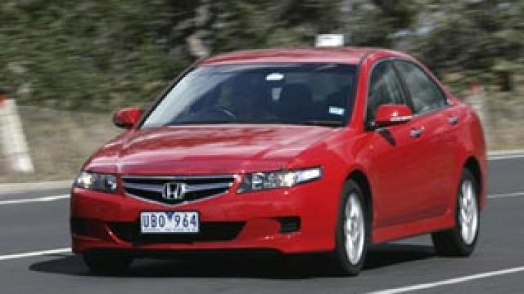 dCOTY 2006: Best Medium Car winner, Honda Accord Euro