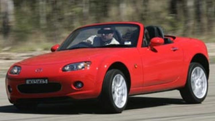 dCOTY 2006: Convertible winner, Mazda MX-5