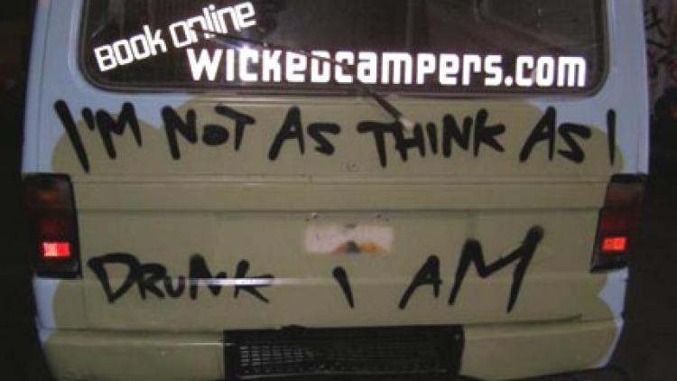 Raunchy slogans for rental vans