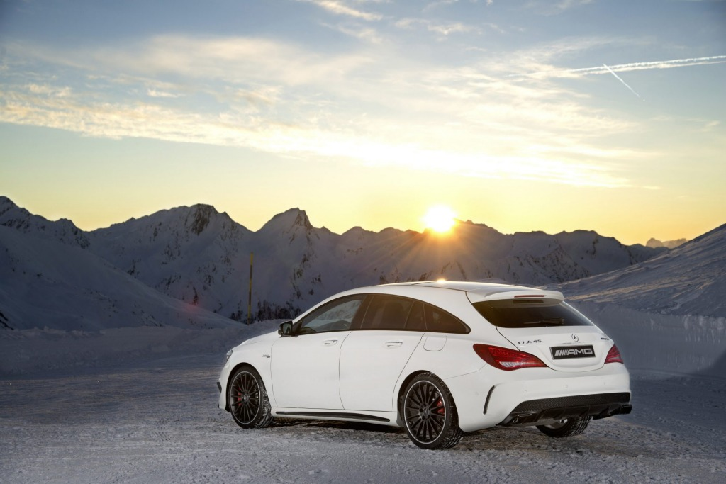 Mercedes-Benz will introduce its CLA Shooting Brake to Australia later this year