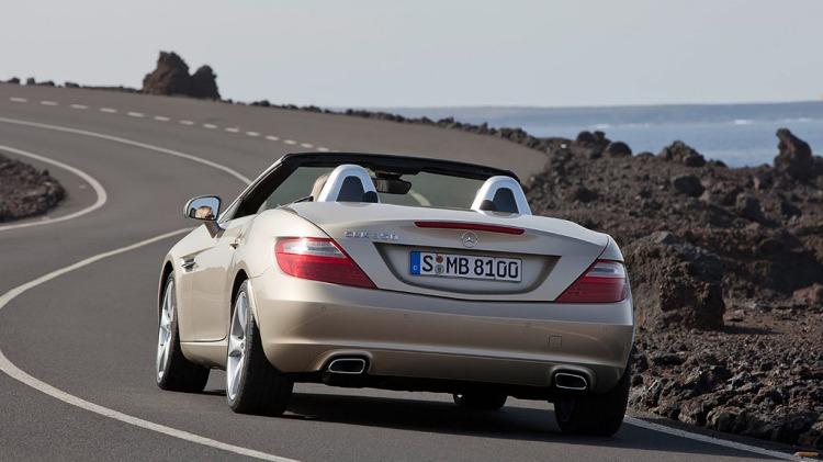 Mercedes-Benz has released its sportiest SLK roadster yet