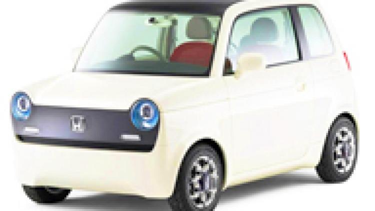 2009 Honda EV-N electric concept car