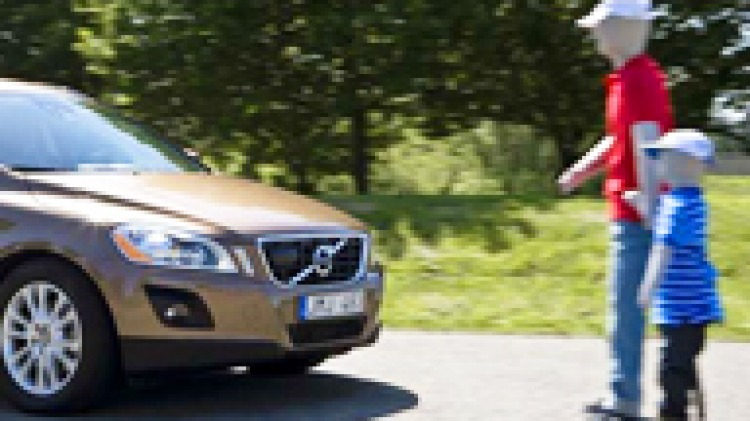 Volvo leads the way with pedestrian-avoidance technology