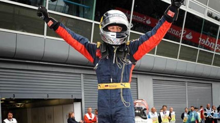 Toro Rosso's German driver, Sebastien Vettel