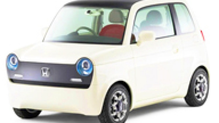 Honda hatches a retro-electric concept car