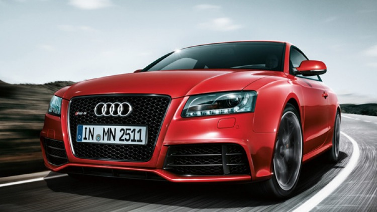 Leaked pictures Audi RS5