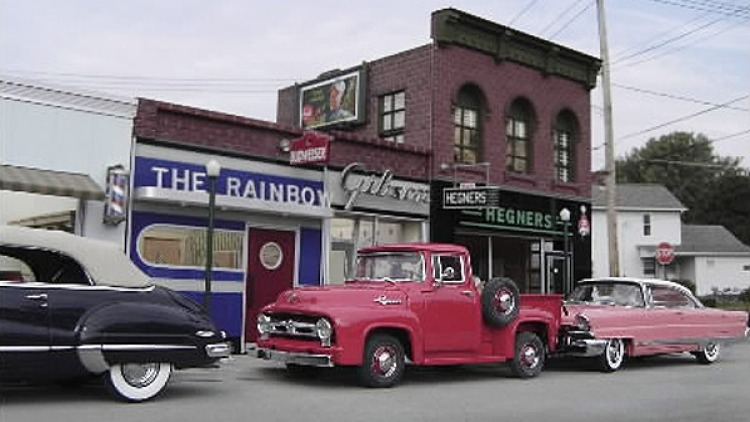 Michael Paul Smith's car models.