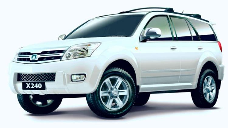 2010 Great Wall X240 SUV.