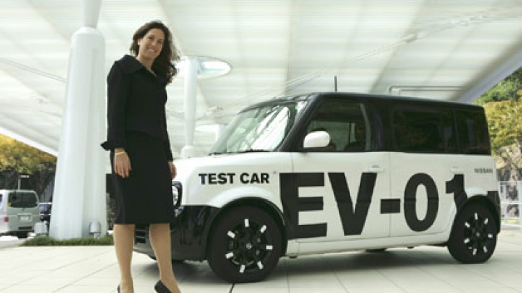 Rayna Handelman, Global Electric Vehicle Coordinator Nissan.