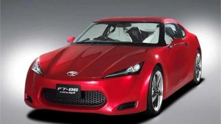 FT-86: Toyota's sports car revealed