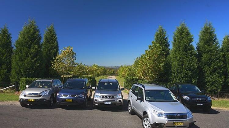 Subaru Forester versus softroader rivals