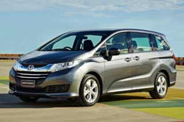 Honda Odyssey VTi new car review