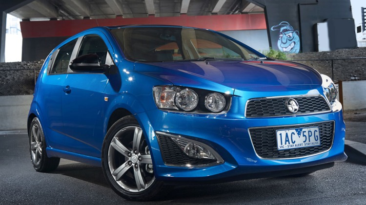 Holden Barina RS.