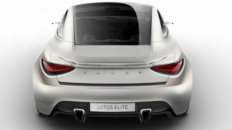 2010 Lotus Elite Prototype.