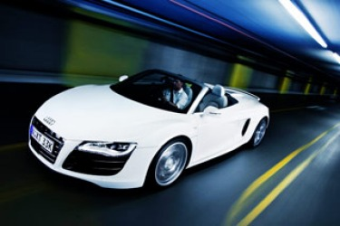 First drive: Audi R8 Spyder