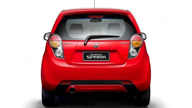 The new Barina Spark.