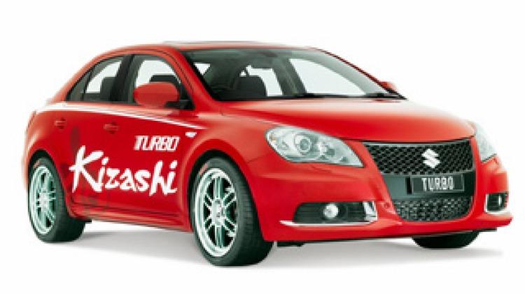 Kizashi turbo