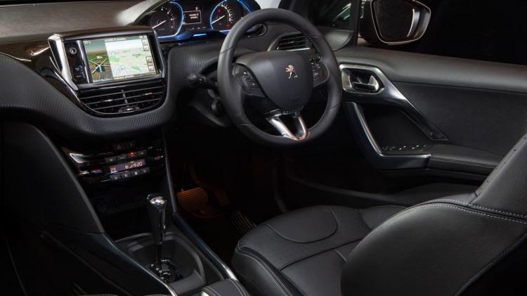 Peugeot 2008 Allure interior.