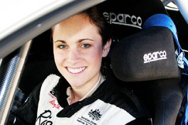 Fast femme aiming for world rally glory
