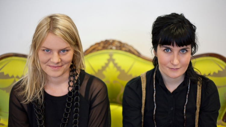 Airbag designers Terese Alstin and Anna Haupt.