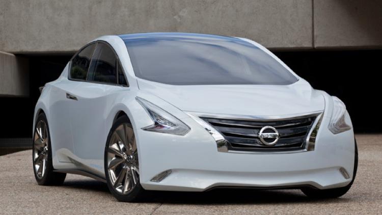Nissan Ellure concept.