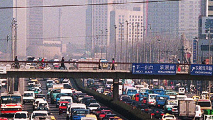 Chinese capital tackles traffic gridlock