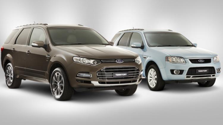 Ford Territory Titanium and GHIA.