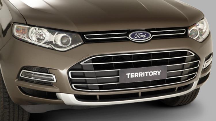 Ford Territory Titanium.