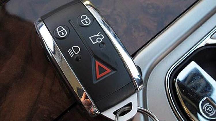 Crime time ... so-called 'smart keys' may not be as secure as the more traditional push-button fobs.