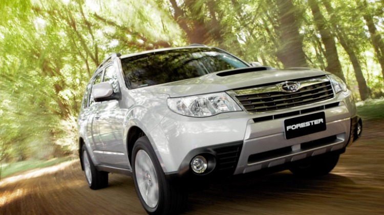 Subaru's Forester is a likely competitor in the 2012 SUV rally championship.