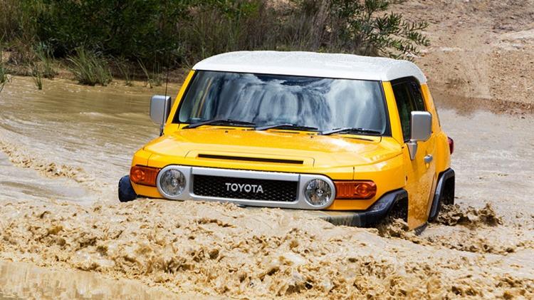 Toyota's retro-styled FJ Cruiser.