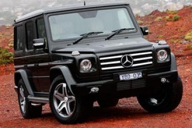 Benz's army-style 4WD storms Australia