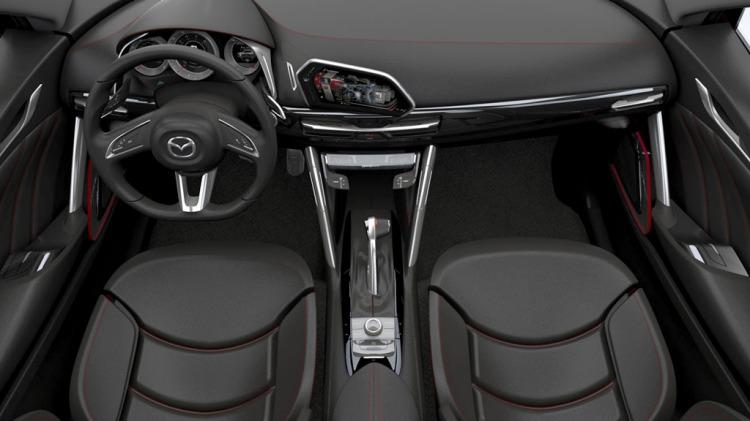 Mazda's Minagi compact crossover concept.