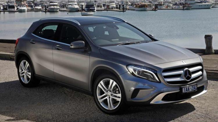 Mercedes-Benz GLA200.