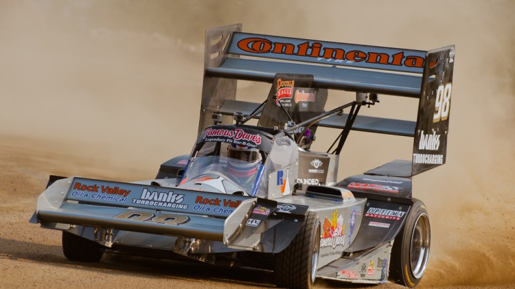 Paul Dallenbach during this year's Pikes Peak practice.