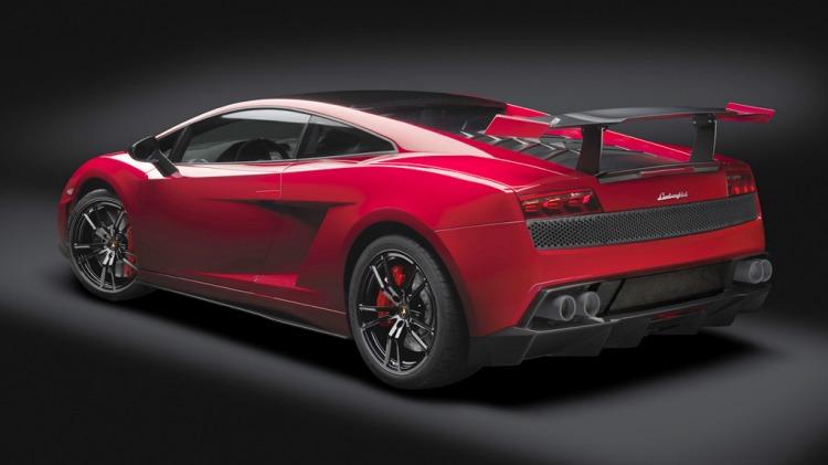 The Lamborghini Gallardo Super Trofeo Stradale.