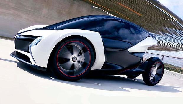 2011 Opel RAK e urban concept vehicle.