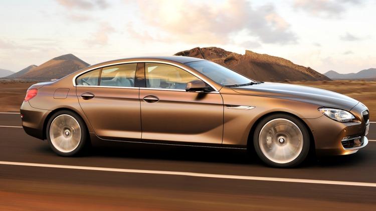 BMW 6-Series Gran Coupe.
