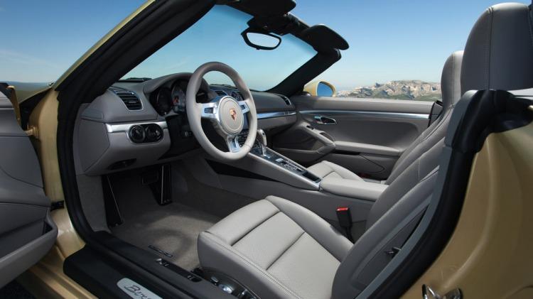 The all-new Porsche Boxster.