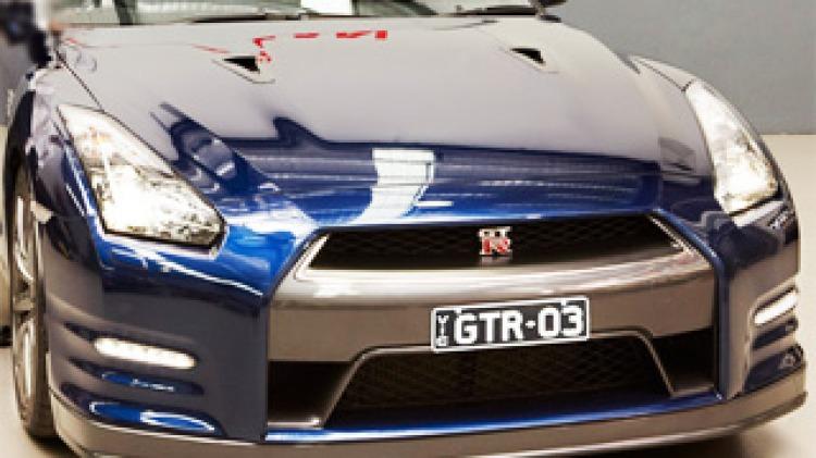 Nissan V8