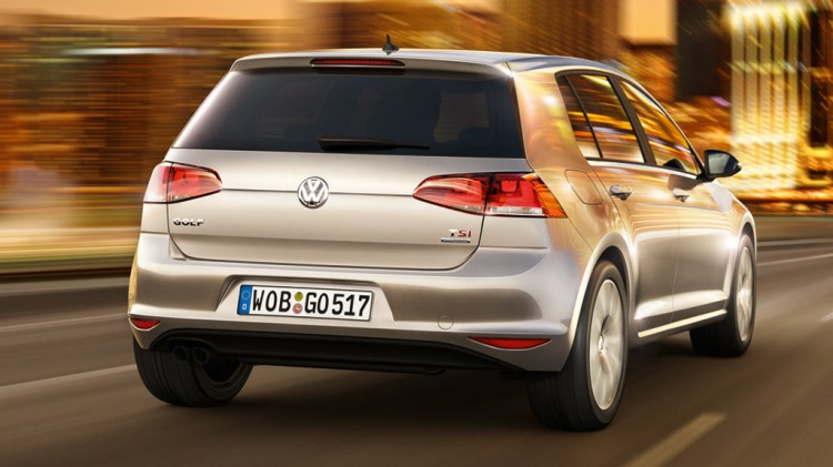 Seventh-generation Volkswagen Golf.