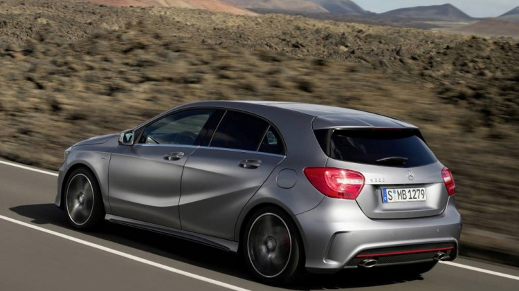 New Mercedes-Benz A-Class, which is due early 2013.