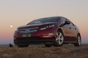 Holden Volt to the outback