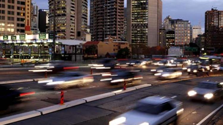 Peak hour traffic