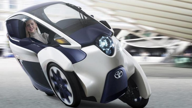Ford may build a city-car concept similar to Toyota's i-ROAD (pictured).